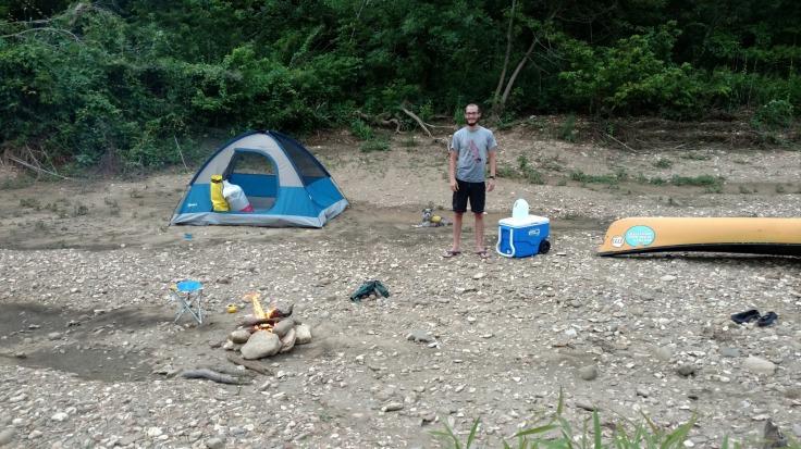Camp Buffalo River Arkansas