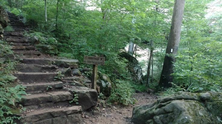 Eden Falls Eden Falls Cave Fork