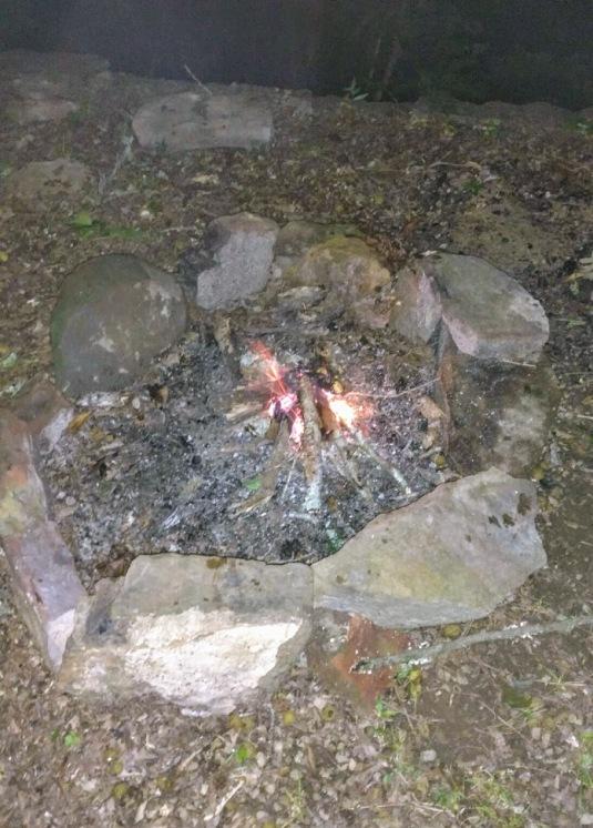 Fire Bayou Bluff Campsite