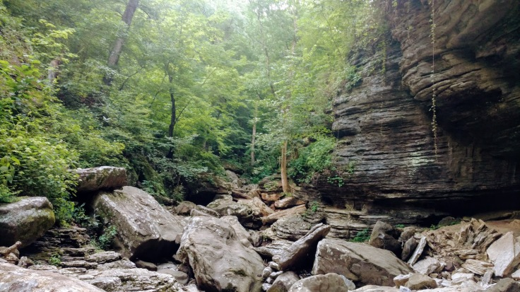 Otherside of Natural Bridge Lost Valley Trail