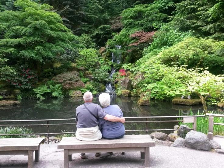 My Grandparents Japanese Garden PDX Oregon
