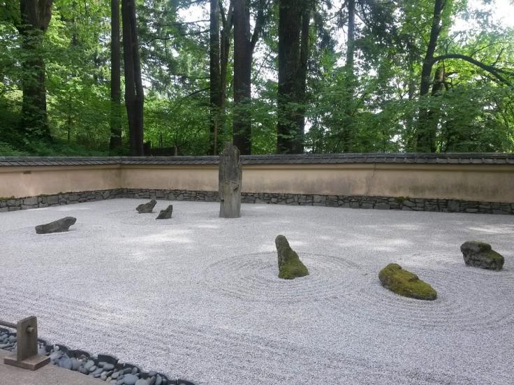 Rock Garden Japanese Garden Oregon