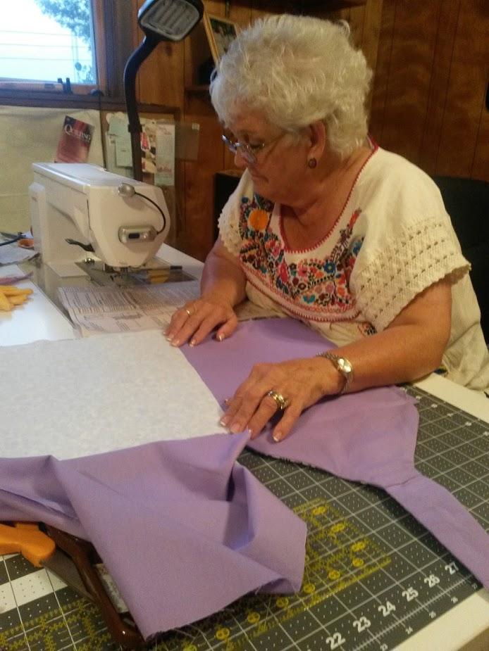 Grandma Sewing Project