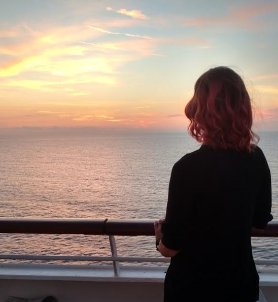 sunset carnival cruise truimph honeymoon 2018