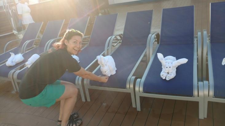 towel animals carnival cruise morinventures