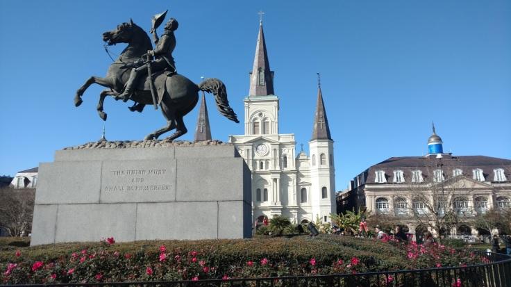 Jackson Square NOLA statue