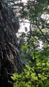 Caitlyn Morin Rock Climbing HCR Morinventures