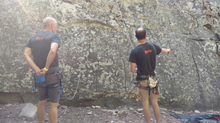 Morinventures Lead Climbing HCR Arkansas