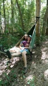 Hammock Camping Tyler Bend Campsite Buffalo National River