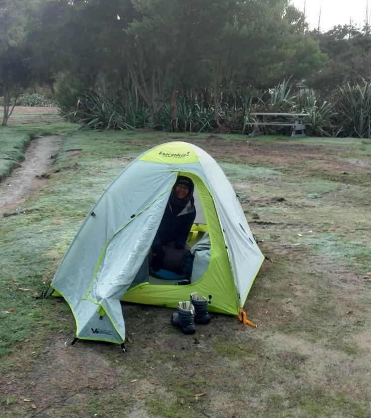 camping anchorage Abel Tasman Coastal Trail