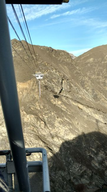 Cart Over to Platform Nevis Bungy Jump NZ